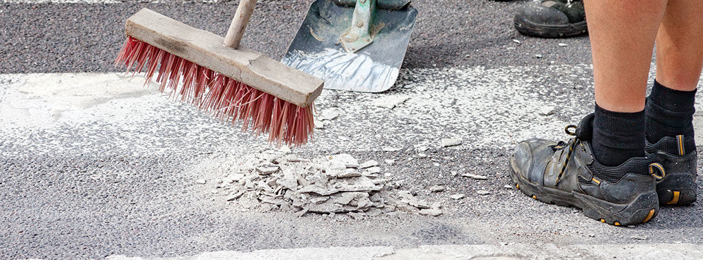 pavement marking removal company